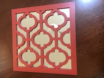 Hobby lobby wall mirror red in Bartlett, Illinois