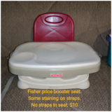 Fisher price booster seat in Orland Park, Illinois