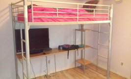 loft bed with desk in Rolla, Missouri