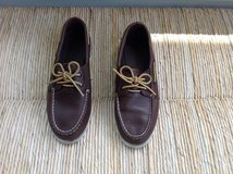 Boy or Girl Brown Original Sperry Boat Shoes Size 5.5 (Excellent Condition) in Aurora, Illinois
