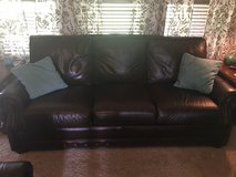 Leather sofa and loveseat in Liberty, Texas