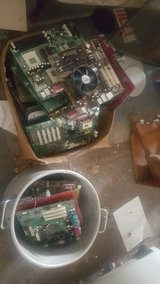 Computer scrap in Oklahoma City, Oklahoma