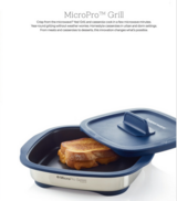 Tupperware MicroGrill - Grill Cheese in the Microwave in Orland Park, Illinois