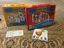 Matching numbers and spelling puzzles in Fort Carson, Colorado