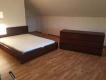 Queen Bed AND 6 Drawer Dresser! MATCHING in Ramstein, Germany