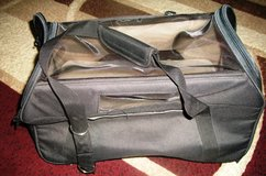 Black Bergan Pet Carrier with Net Top & Wheels in Alamogordo, New Mexico