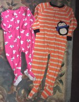 carter's onesies pink is 12 months orange is 3T in Fort Knox, Kentucky
