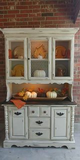 Farmhouse Hutch and Buffet in The Woodlands, Texas