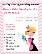 Minute Maids Cleaning Service in DeRidder, Louisiana