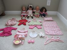 Corolle and Gotz High-End Doll Lot in Sugar Grove, Illinois