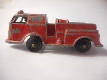 Tootsietoy Firetruck Diecast Red Vintage in Temecula, California