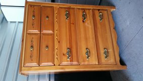 Height top dresser solid wood with  5 huge drawers in El Paso, Texas