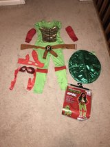 GIRLS TMNT RAPHAEL HALLOWEEN COSTUME SIZE SMALL in Colorado Springs, Colorado