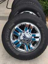 "Chrome 18"" Rims w/ tires in Lawton, Oklahoma"