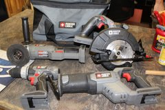 Porter Cable Cordless Tool Set in Hopkinsville, Kentucky