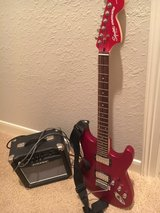 Squire Stratocaster by Fender with Amp in Kingwood, Texas