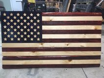 Hand Made Torched American Flag in Fort Bragg, North Carolina
