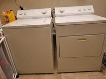 Whirpool Washer and electric dryer matching set for sale in Leesville, Louisiana
