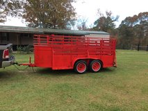 14' stock trailer in Leesville, Louisiana