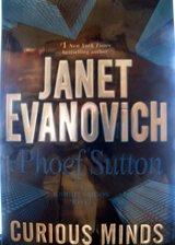 Janet Evanovich (2) Hardbound Books The Job, and Curious Minds in Wilmington, North Carolina