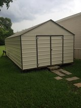 12x24 Storage Building in Leesville, Louisiana
