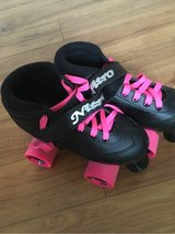 pink and black knight trail kids skates in Alamogordo, New Mexico