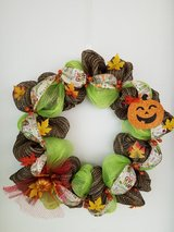 Fall Wreath in Fort Leonard Wood, Missouri