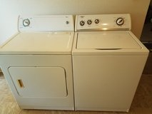 Whirlpool washer and dryer set in Leesville, Louisiana