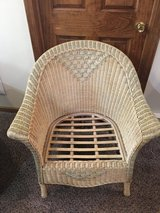 Wicker chair in Plainfield, Illinois