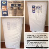Baby Mattress with girl sheets and blankets in Fort Belvoir, Virginia
