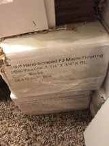 Hand scraped wood floor LW Mountain 11 unused boxes in Shorewood, Illinois