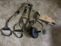 TRX System: with Weight Belt and Ab Roller in Fort Belvoir, Virginia