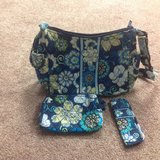 Vera Bradley & Accessories (Mod Blue Floral) in Schaumburg, Illinois