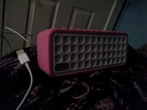Pink Bluetooth Sylvania Mini Speaker with Silicone Protective Covet in Fort Campbell, Kentucky
