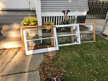 Real Wood Antique Windows in Wheaton, Illinois