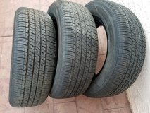3 used tires like new condition 195/60/15 88H in Camp Pendleton, California