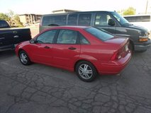 2002 Red Ford Focus in Nellis AFB, Nevada