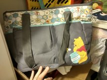 Like new Pooh Bear diaper bag. in Fort Carson, Colorado