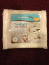 Breathable Baby Mesh Crib Liner - Brand New, Never Opened in Schaumburg, Illinois