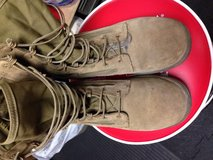 Belleville 9.0W hot weather boots in Camp Pendleton, California