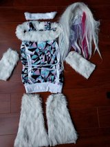 Monster High Abby Bominable Costume size M in Schaumburg, Illinois