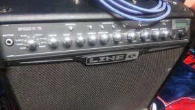 Line 6 Spider IV 75 Guitar Amp + VOX WAH pedal in Okinawa, Japan