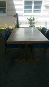 4-chair Dining set in Schofield Barracks, Hawaii