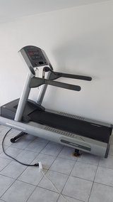 Life Fitness 97ti Treadmill - Commercial Grade 220v(also 110v??) in Ramstein, Germany