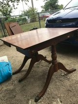 Antique Drexel Table in Manhattan, Kansas