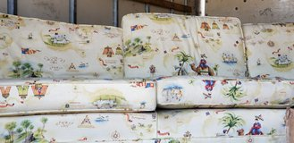 Very nice couch. Has camels on it. in Fort Leonard Wood, Missouri