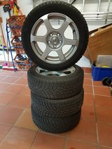 winter tires, vw golf, mark 6 body (2012) in Wiesbaden, GE