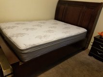 Queen mattress and two drawer frame in Hinesville, Georgia