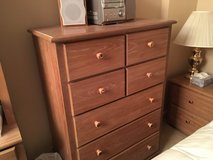 5 piece wood bedroom set or best offer in Plainfield, Illinois