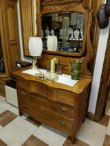 French Curve Dresser w/ Mirror in Fort Leonard Wood, Missouri